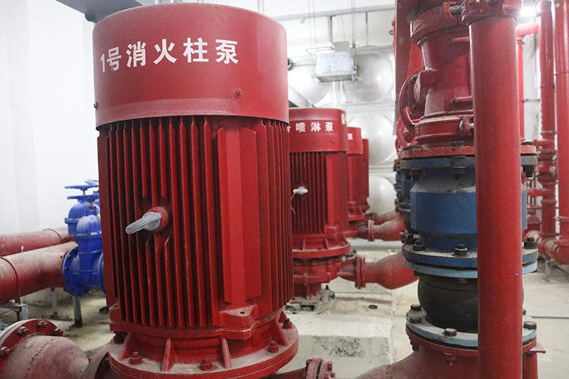 消防泵房加压系统